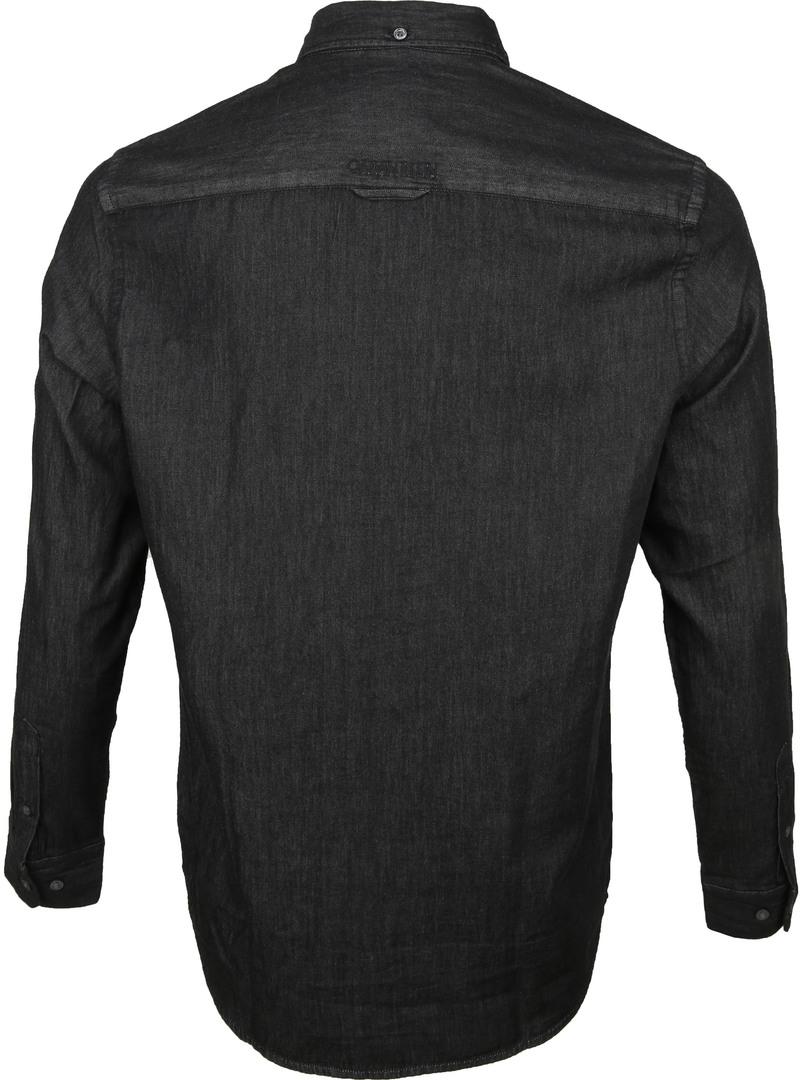 Calvin Klein Overhemd Denim Zwart foto 4