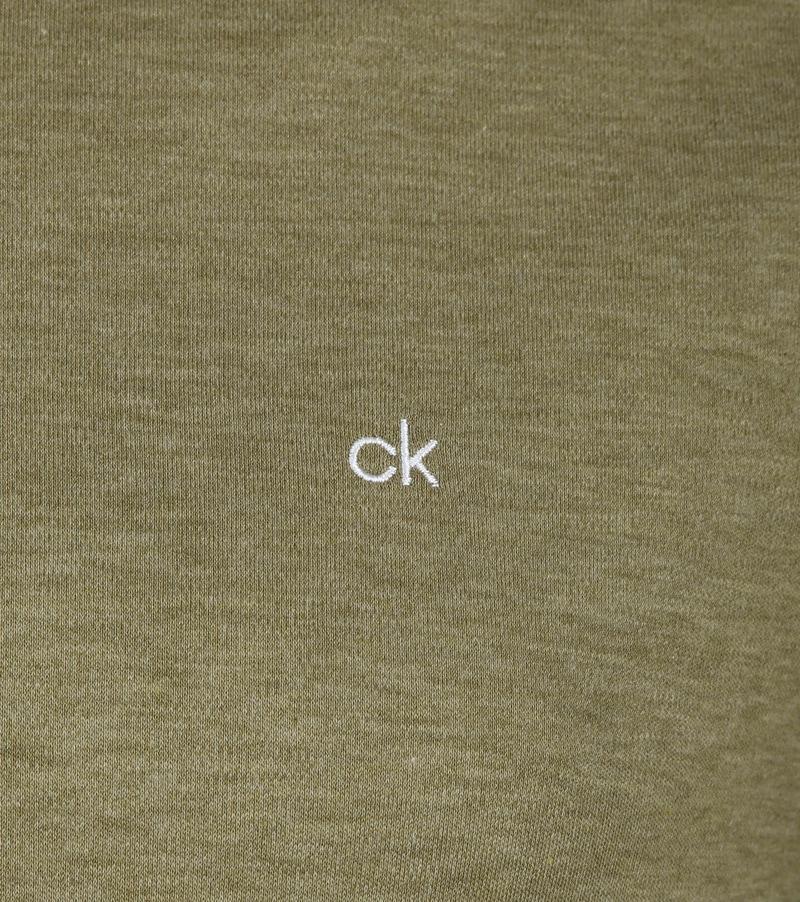 Calvin Klein Polo Dunkelgrün Foto 2