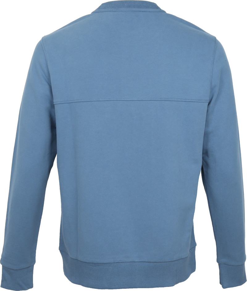 Calvin Klein Sweater Logo Blauw