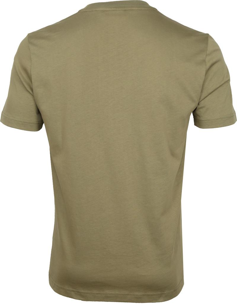 Calvin Klein T-Shirt Logo Donkergroen