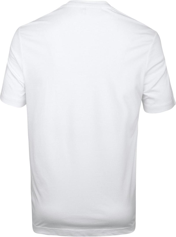 Calvin Klein T-Shirt Logo Groot Wit