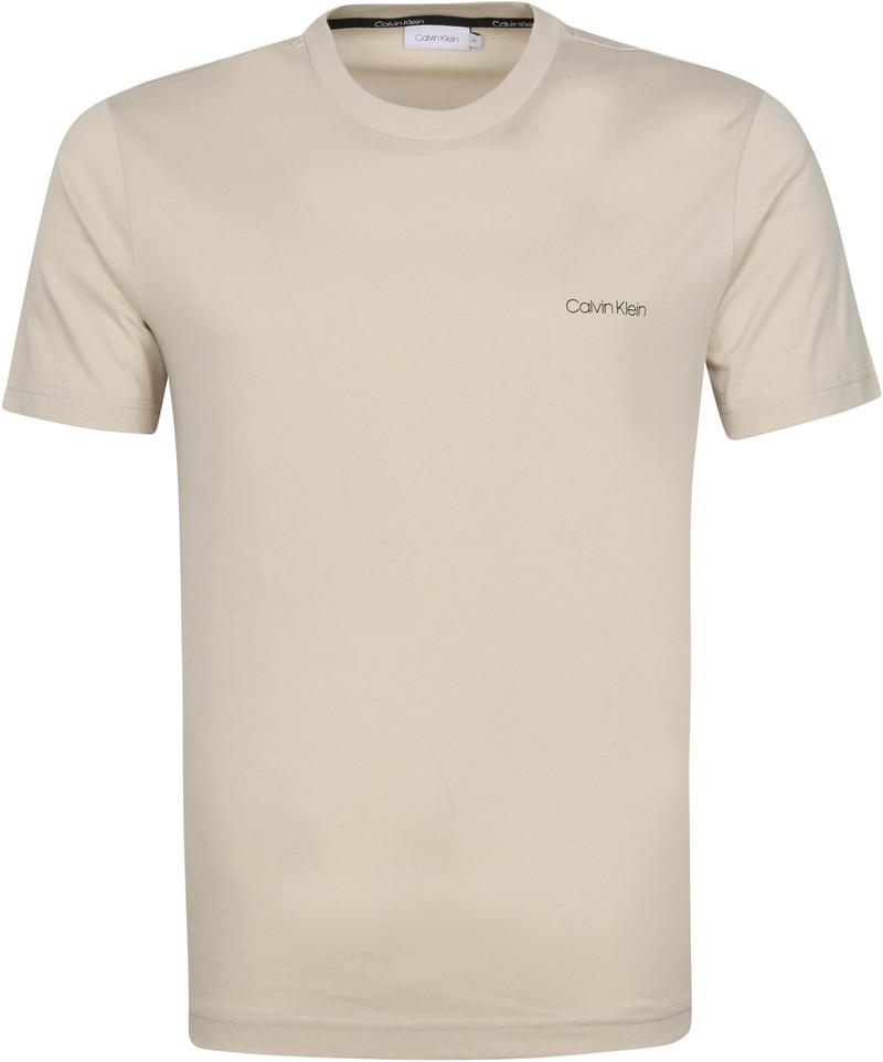 Calvin Klein T-Shirt Logo Lichtgrijs
