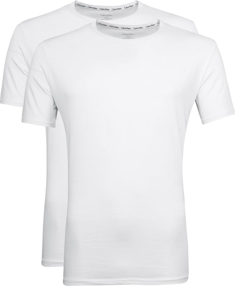 Calvin Klein T-Shirt O-Neck Wit 2-pack
