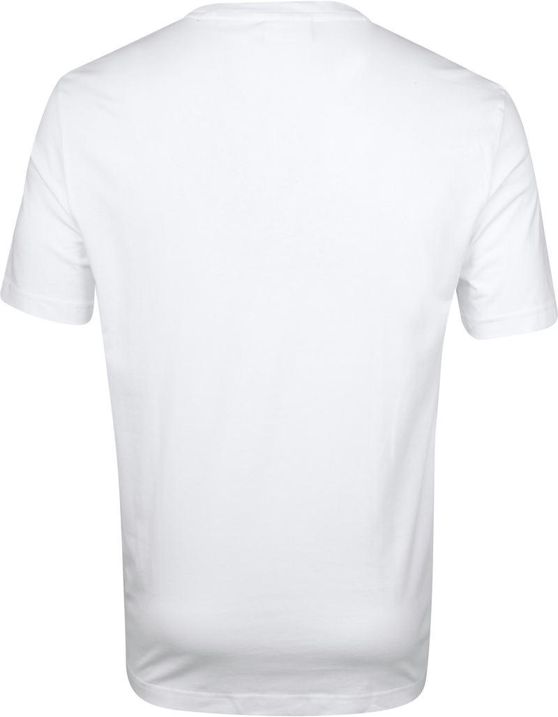 Calvin Klein T-Shirt Shadow Logo Wit