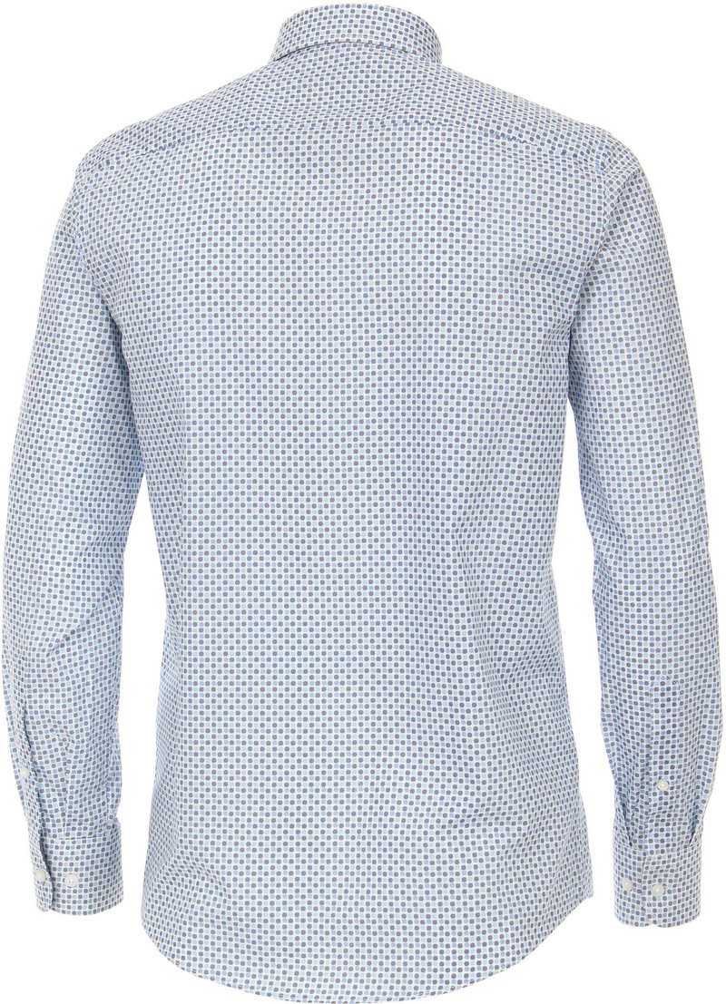 Casa Moda Casual Shirt Dots Blue photo 4