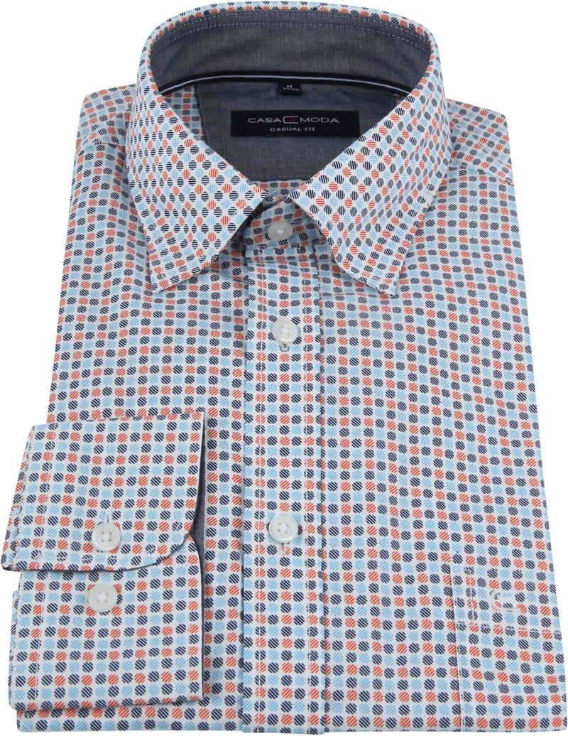 Casa Moda Casual Shirt Dots Orange photo 2