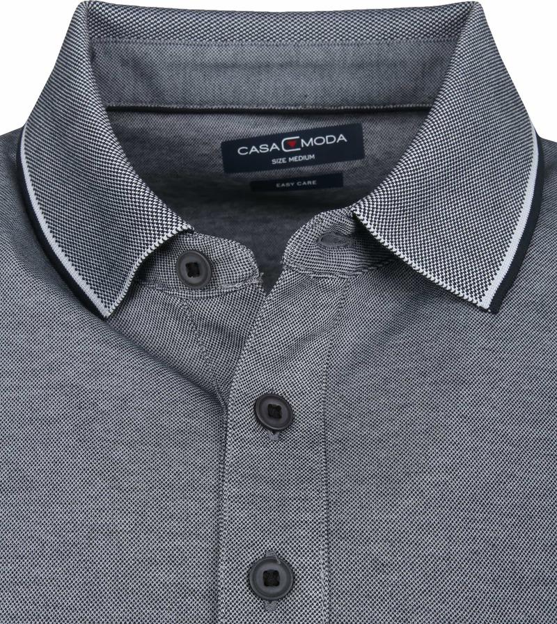 CASAMODA Tricot Veste gris foncé manches longues normal Coupé College-col 90/% Ba