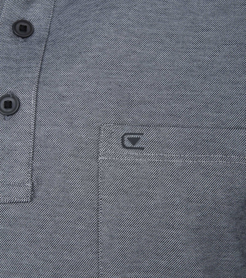 Casa Moda Poloshirt Dark Grey photo 2