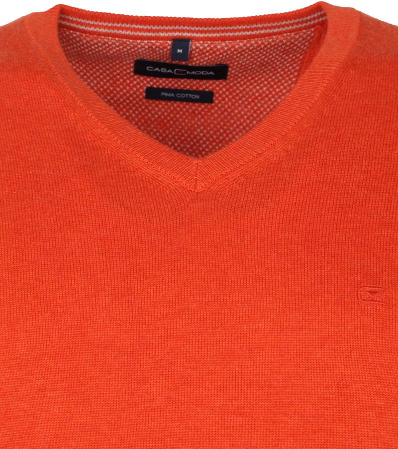 Casa Moda Pullover V Oranje