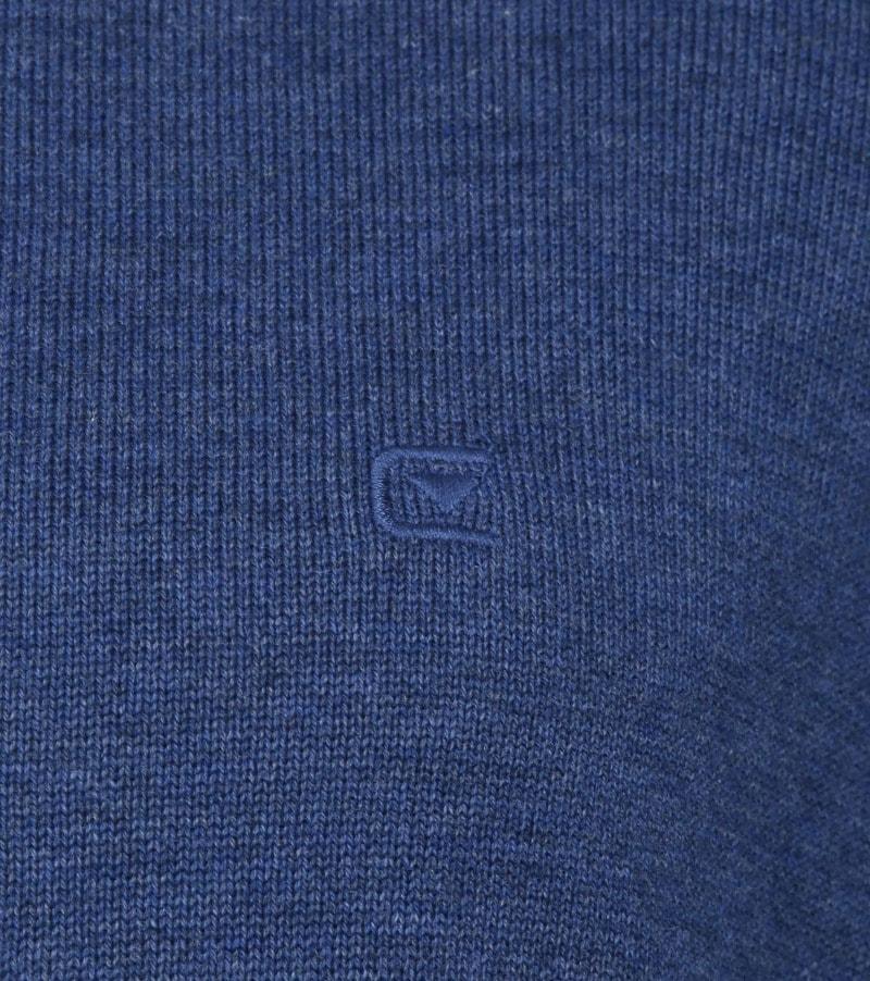 Casa Moda Vest Zip Blauw foto 2
