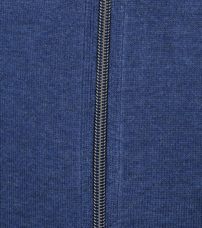 Casa Moda Vest Zip Blauw foto 3