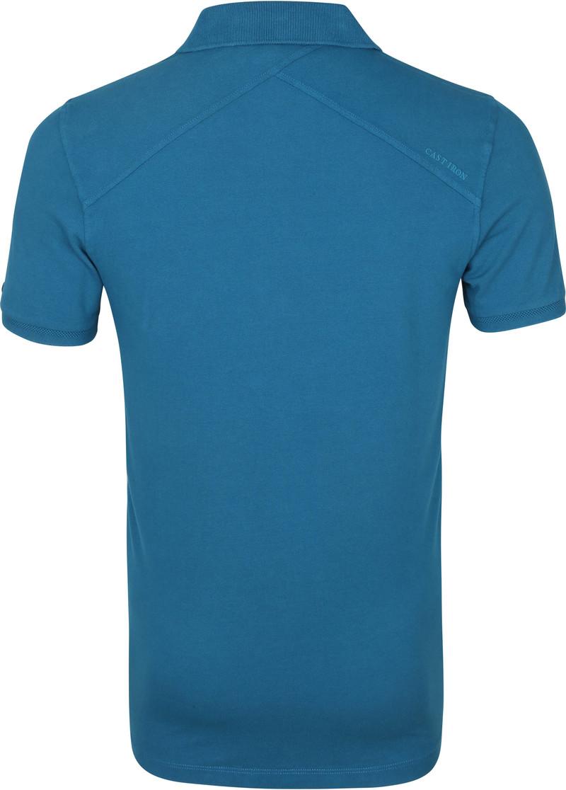 Cast Iron Polo Shirt Blauw