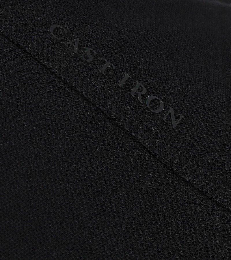 Cast Iron Polo Shirt Zwart