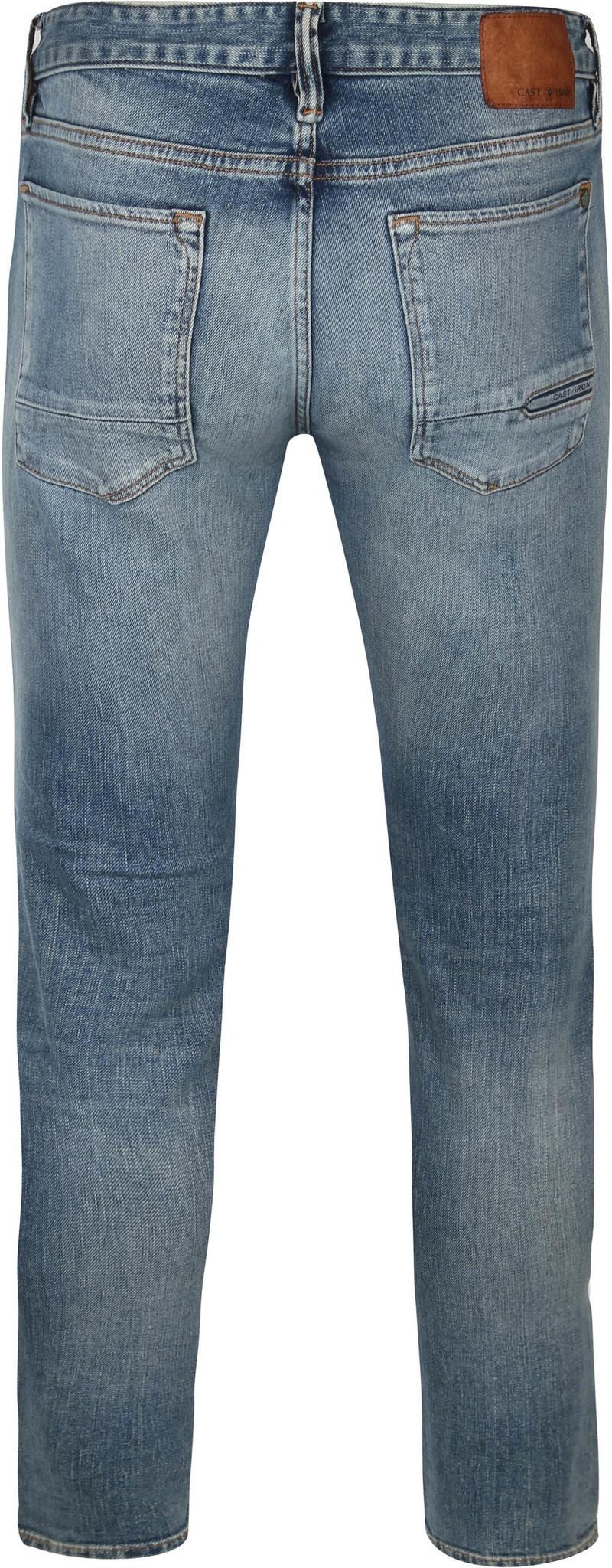 Cast Iron Riser Jeans Clear Sky Blauw - Blauw maat W 34 - L 36