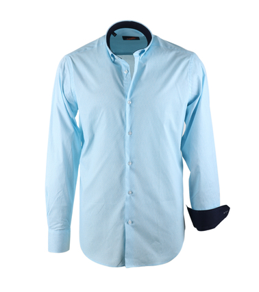 Dagaanbieding herenkleding: Casual Overhemd S2-3 Licht Blauw  online bestellen | Suitable