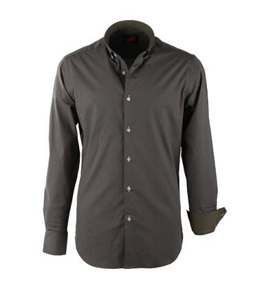 Casual Overhemd S2-6 Groen  online bestellen   Suitable