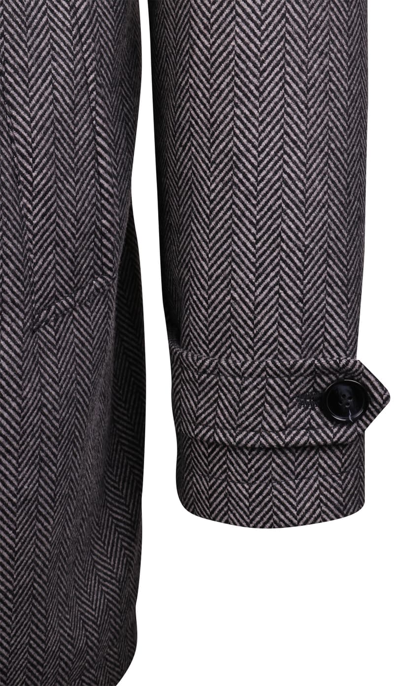 Coat Anthony Herringbone Grey photo 2