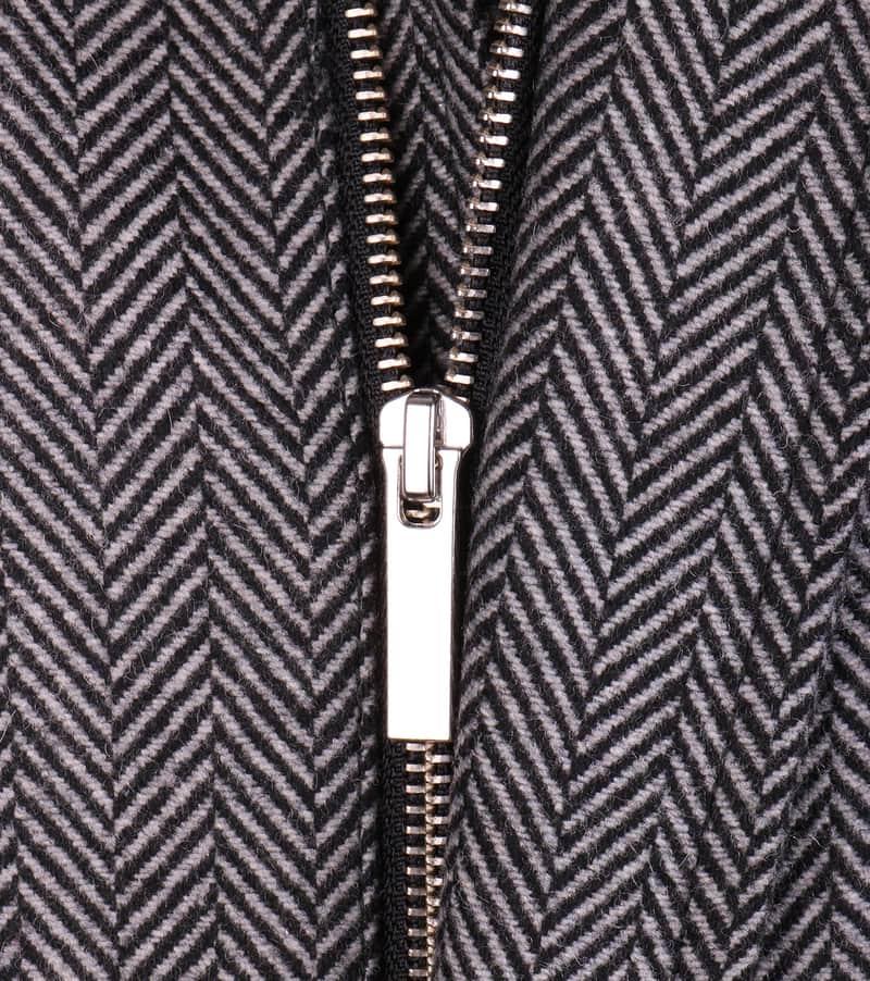 Coat Anthony Herringbone Grey photo 3