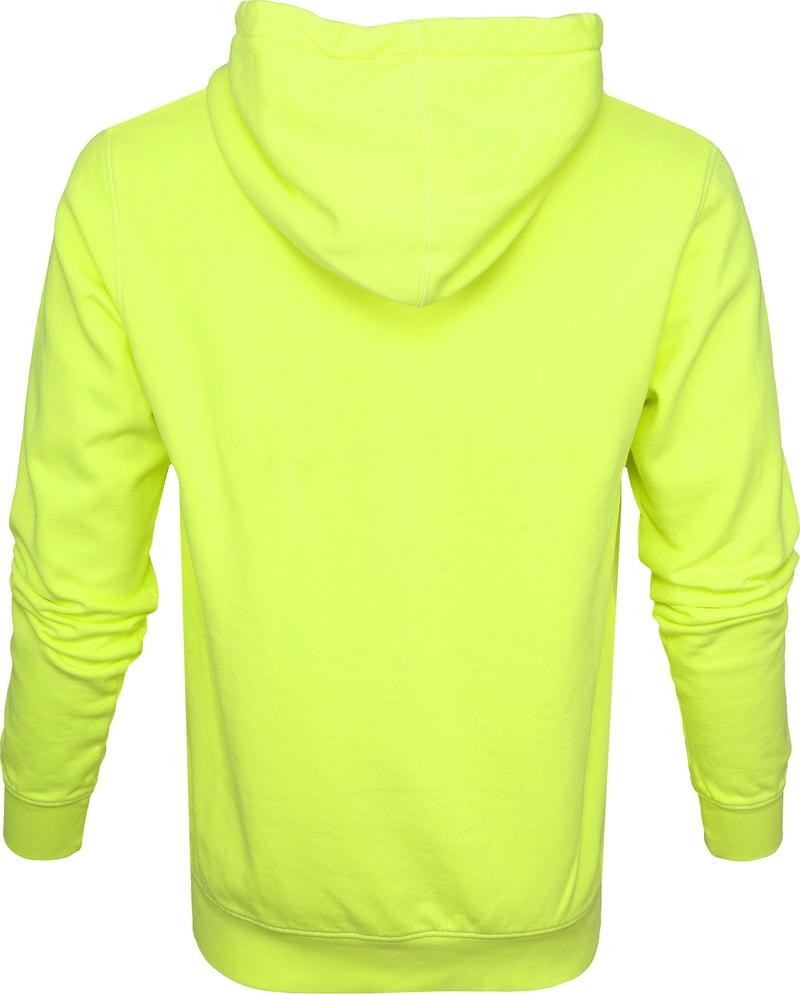 Colorful Standard Hoodie Neon Geel foto 3