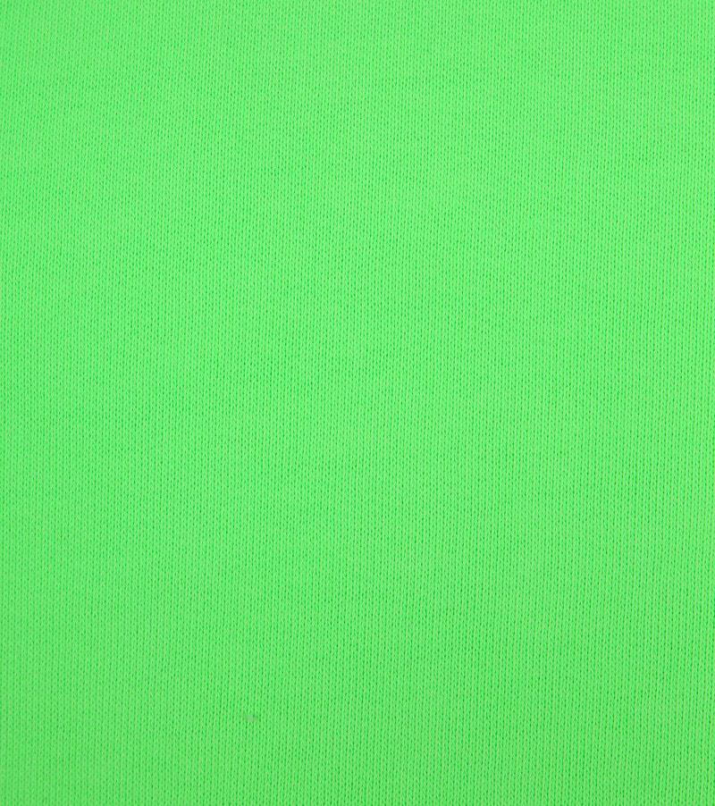Colorful Standard Hoodie Neon Groen foto 2