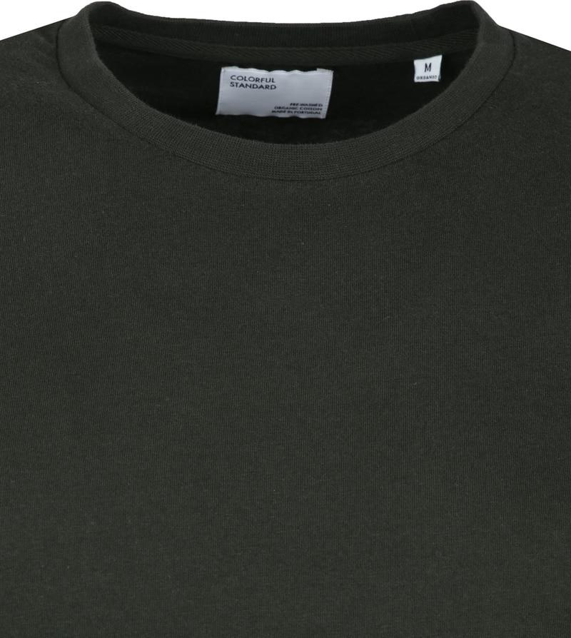 Colorful Standard Organic T-shirt Dunkelgrün Foto 1