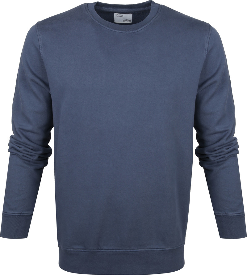 Colorful Standard Sweater Blauw - Blauw maat M