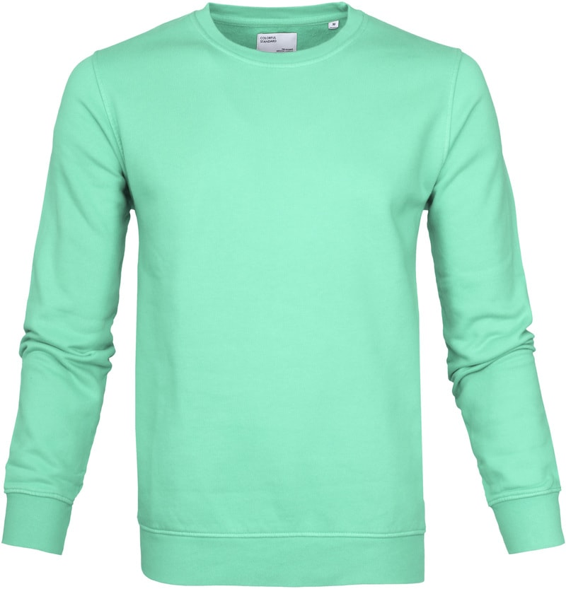 Colorful Standard Sweater Faded Mint photo 0