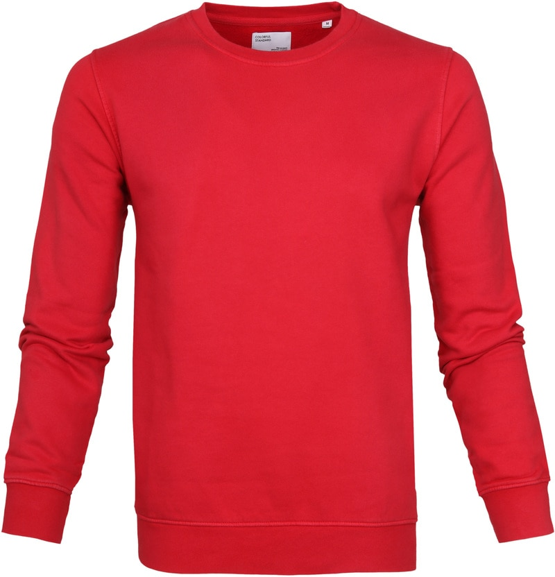 Colorful Standard Sweater Kelly Red photo 0