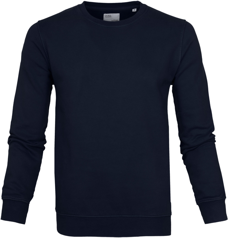 Colorful Standard Sweater Navy Blue photo 0