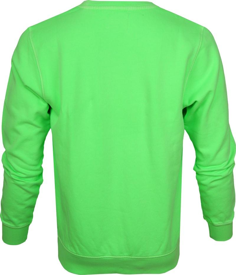 Colorful Standard Sweater Neon Groen foto 3