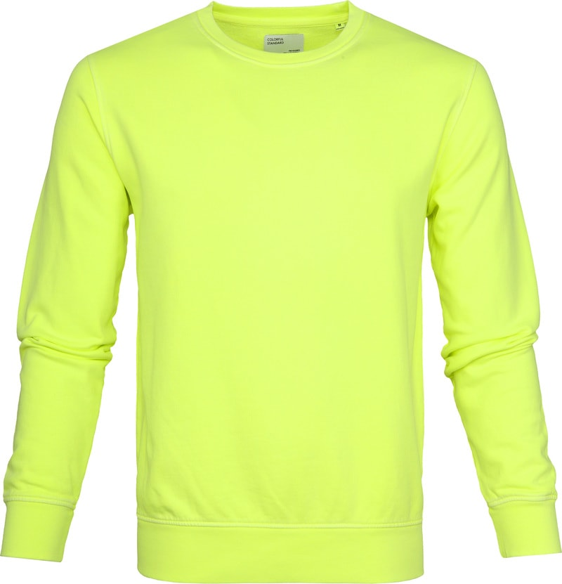 Colorful Standard Sweater Neon Yellow photo 0