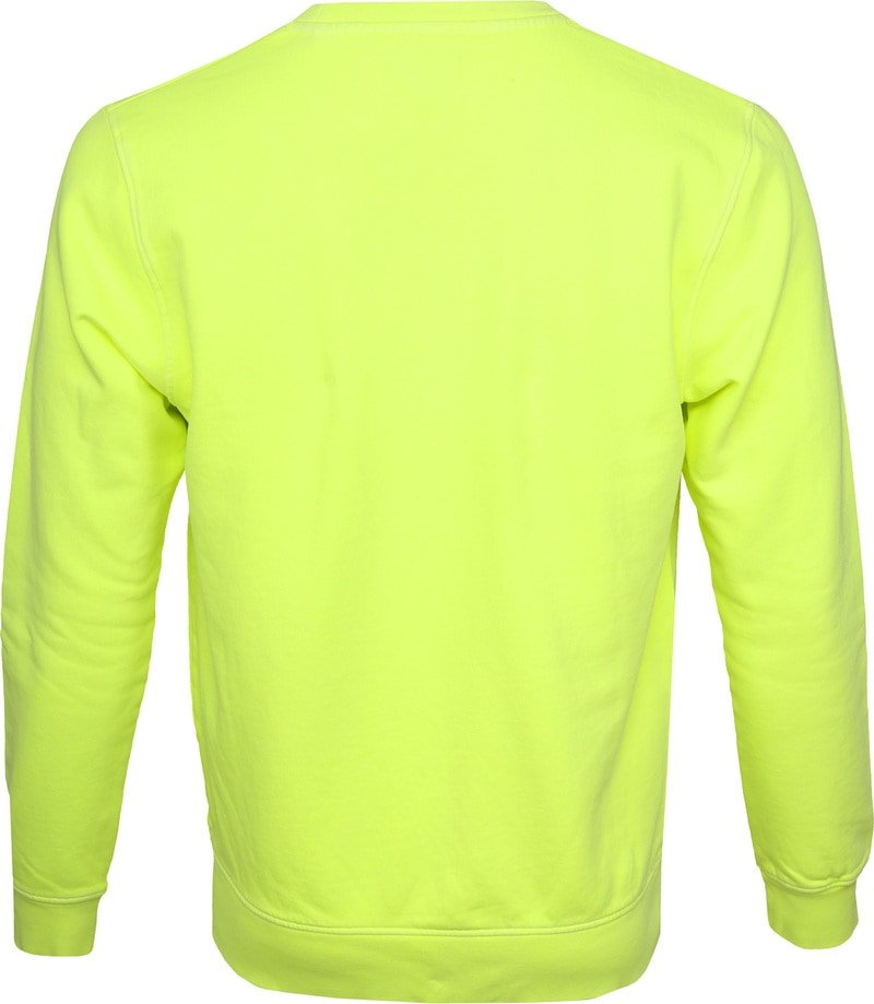 Colorful Standard Sweater Neon Yellow Foto 3