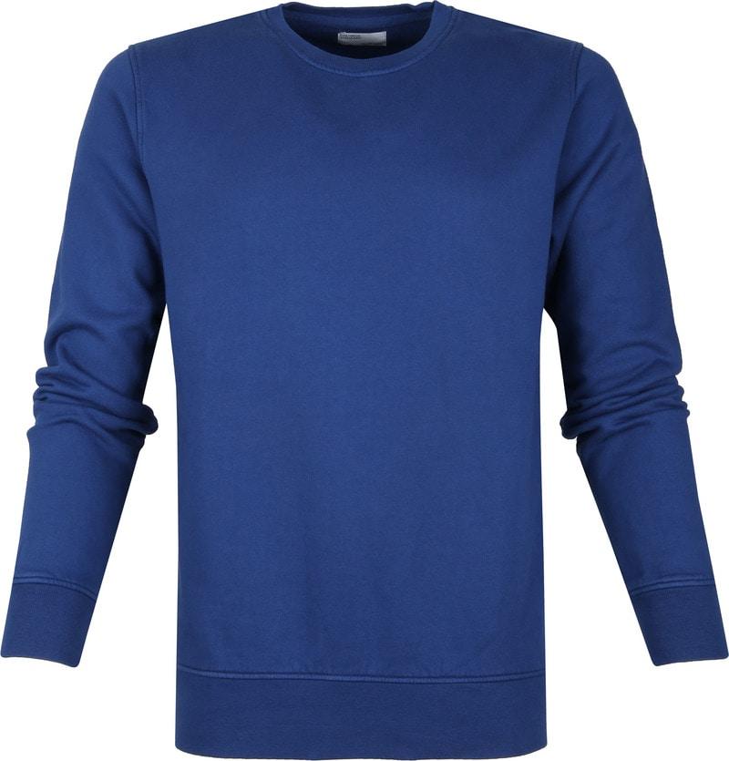 Colorful Standard Sweater Organic Blauw foto 0