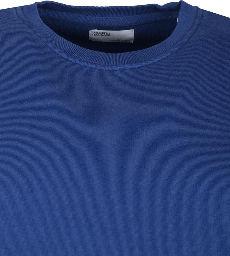 Colorful Standard Sweater Organic Blauw foto 1