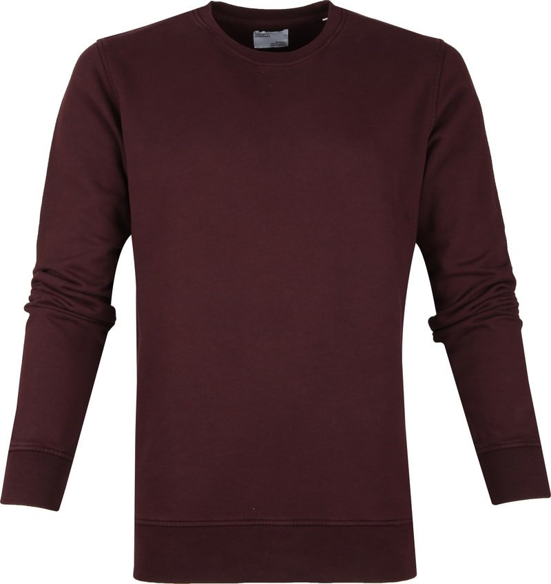 Colorful Standard Sweater Organic Bordeaux foto 0