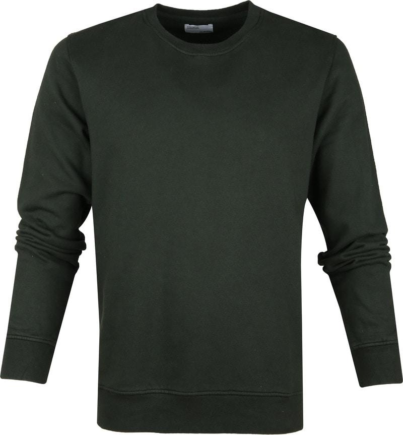 Colorful Standard Sweater Organic Donkergroen foto 0
