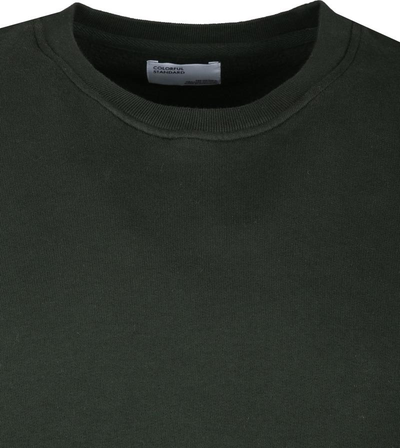 Colorful Standard Sweater Organic Donkergroen foto 1