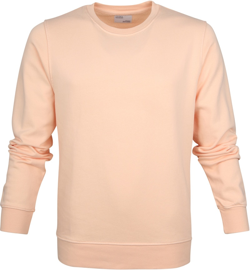 Colorful Standard Sweater Pastel Oranje foto 0