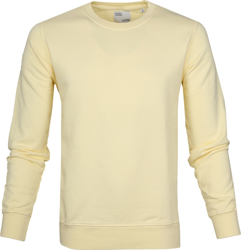 Colorful Standard Sweater Soft Yellow photo 0