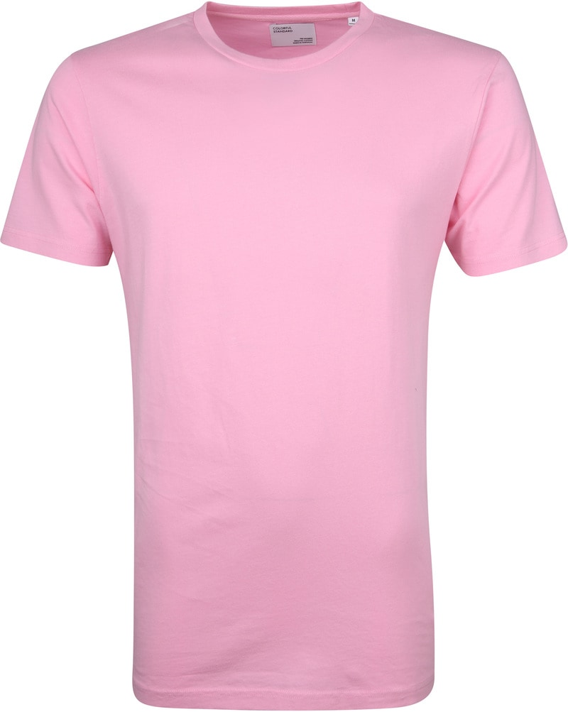 Colorful Standard T-shirt Flamingo Roze foto 0