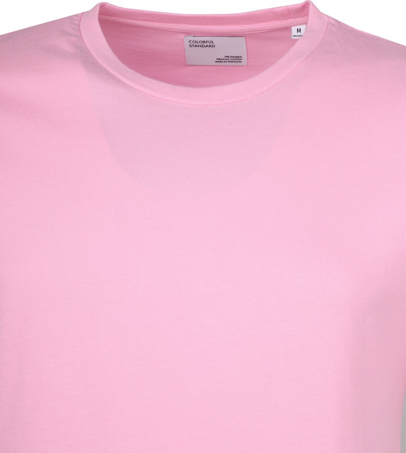 Colorful Standard T-shirt Flamingo Roze foto 1