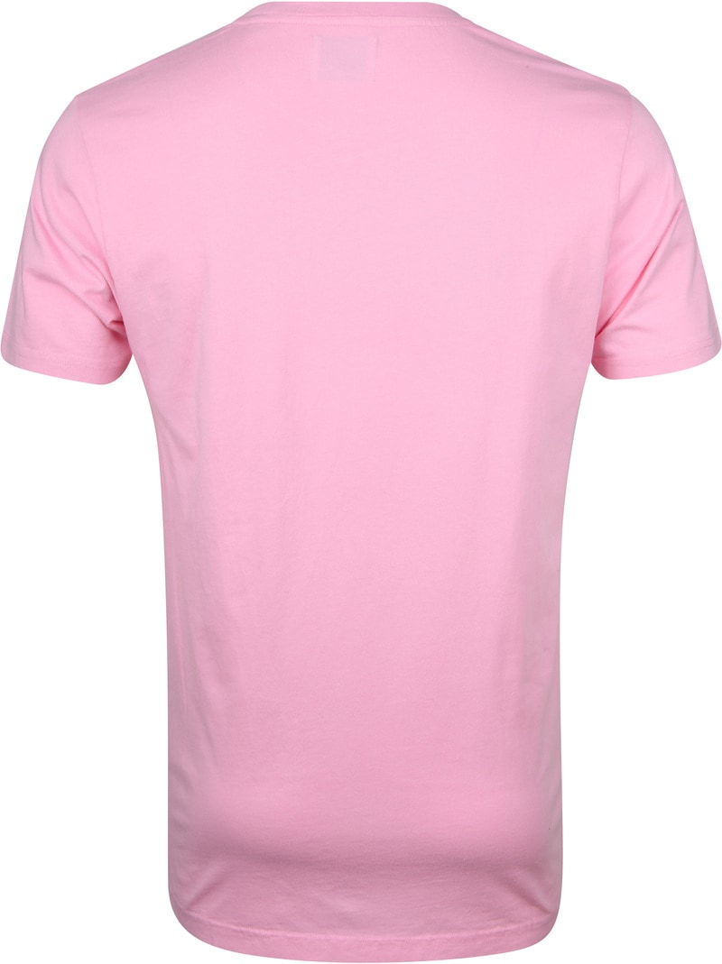 Colorful Standard T-shirt Flamingo Roze foto 3