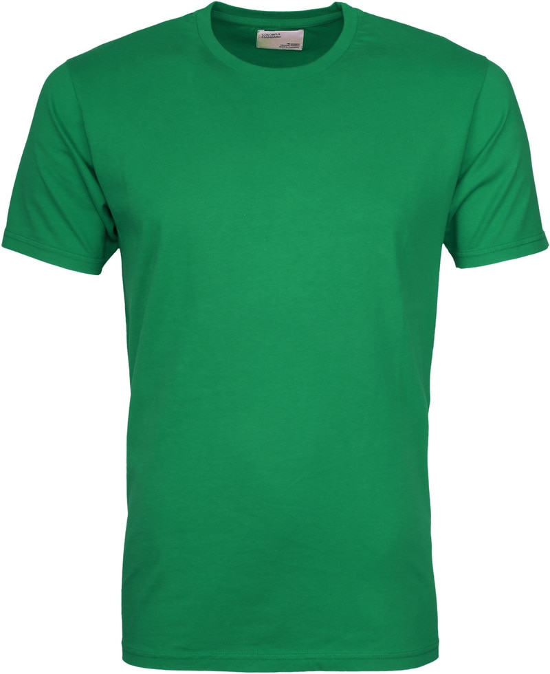 Colorful Standard T-shirt Kelly Green foto 0
