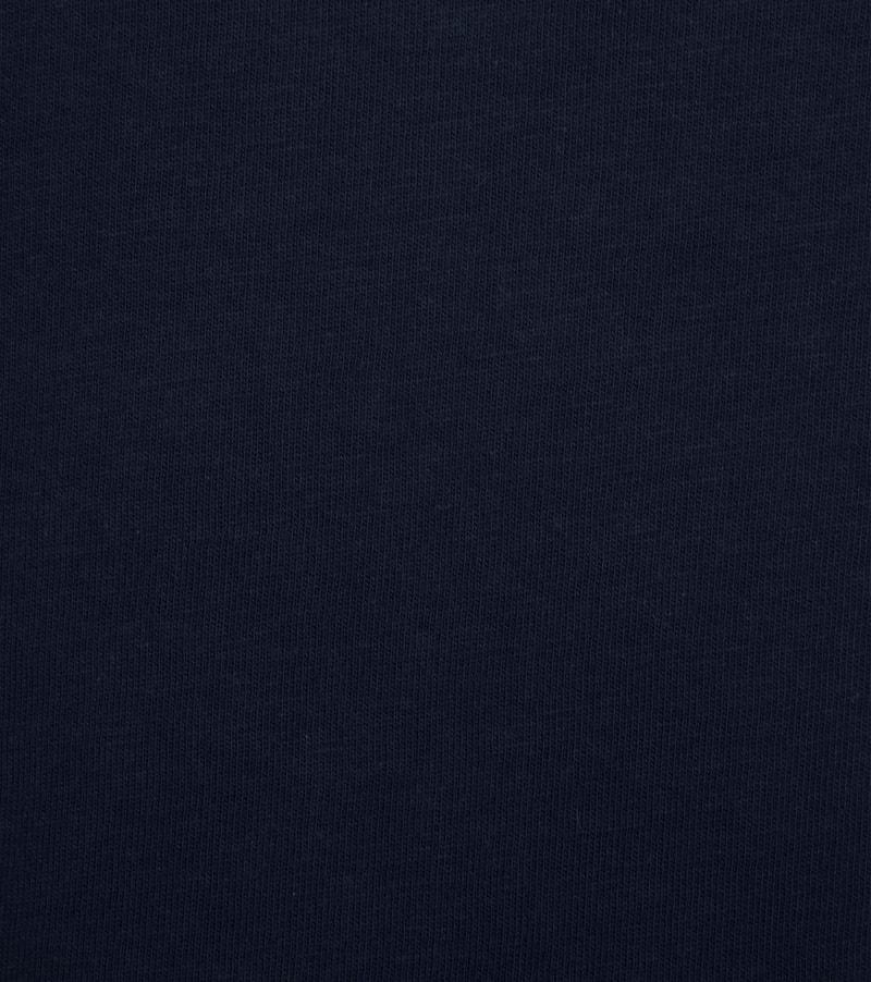 Colorful Standard T-shirt Navy Blue foto 1