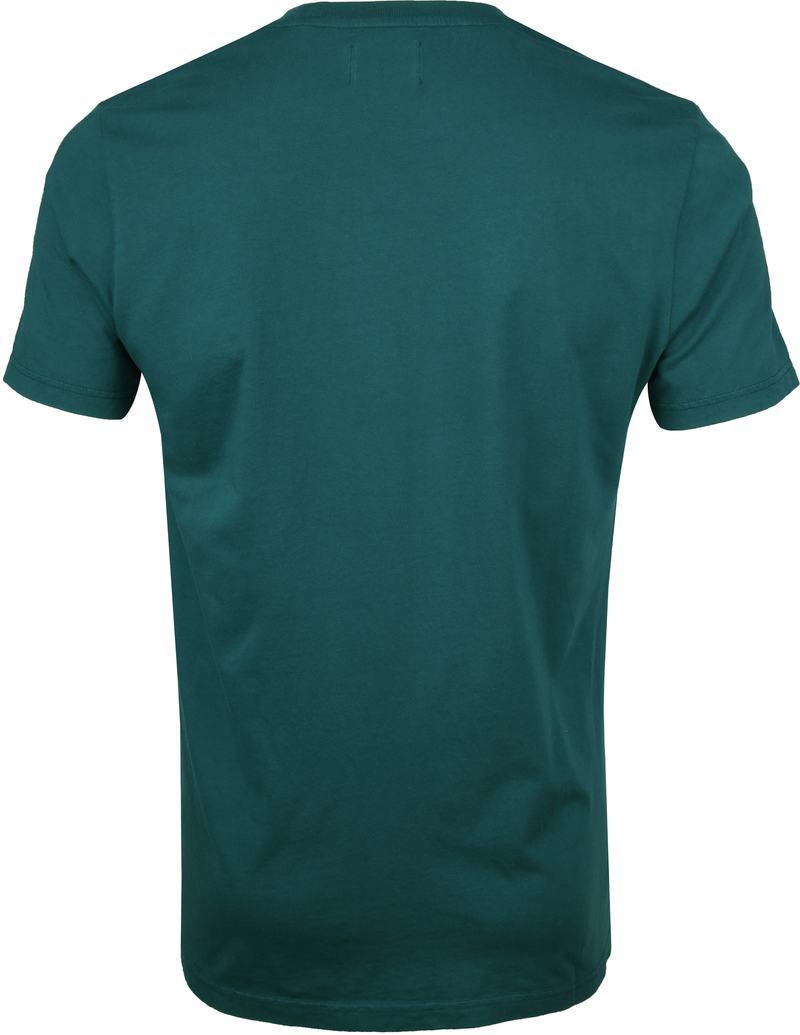 Colorful Standard T-shirt Ocean Groen foto 3