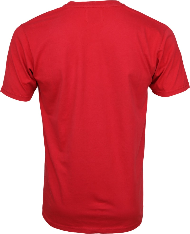 Colorful Standard T-shirt Scarlet Red foto 2