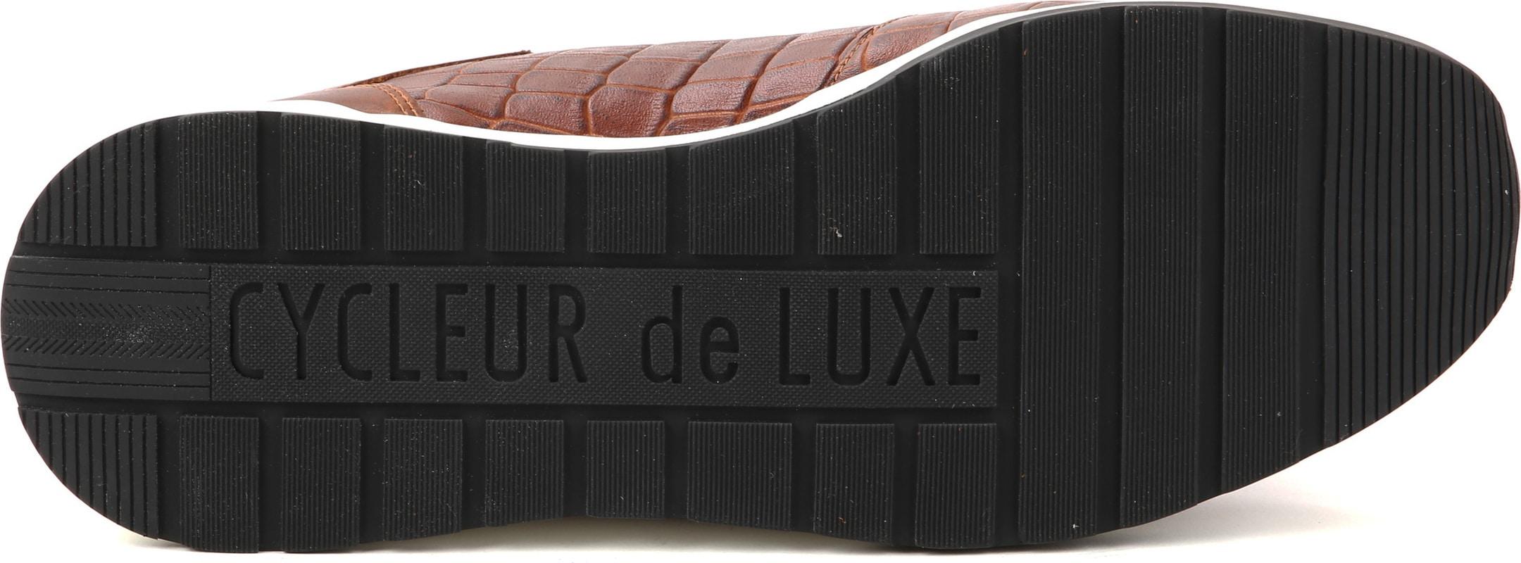 Cycleur de Luxe Sneaker Sanremo Cognac foto 3