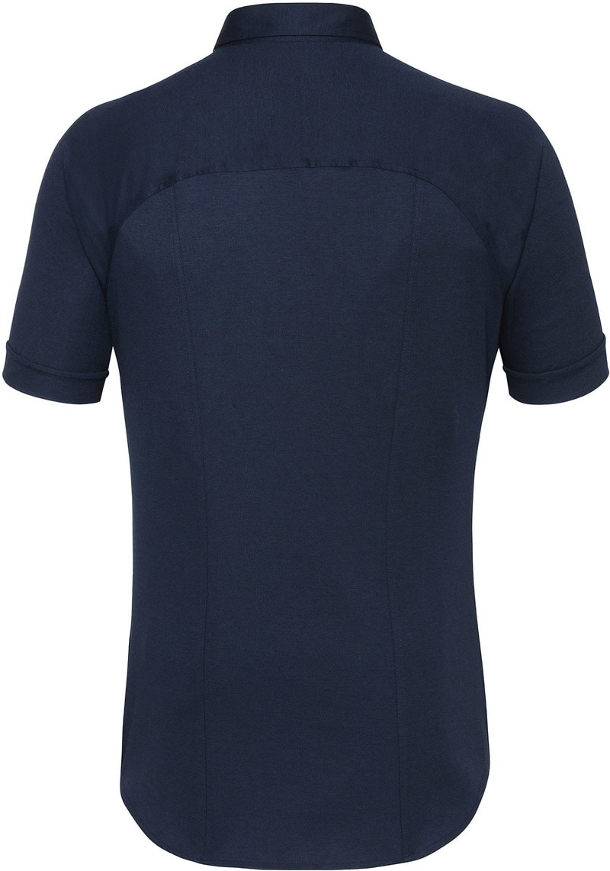 Desoto Overhemd Korte Mouw Donkerblauw 512 foto 2