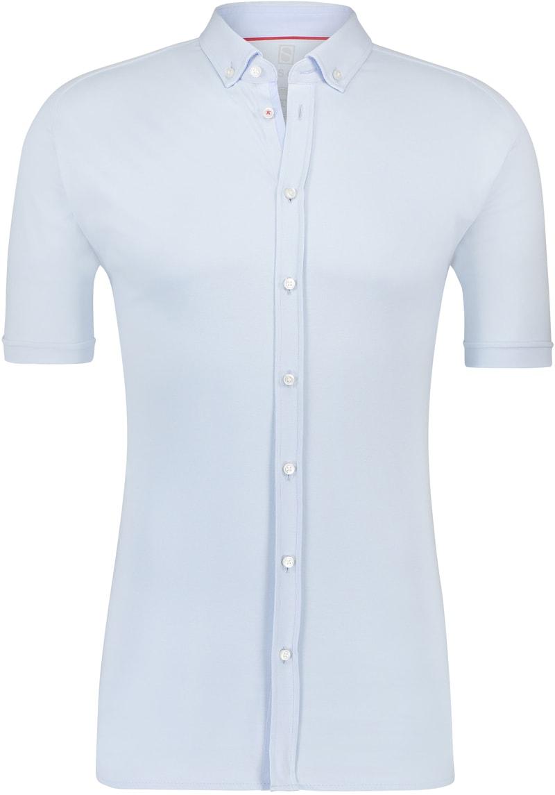 Desoto Overhemd Korte Mouw Lichtblauw 051