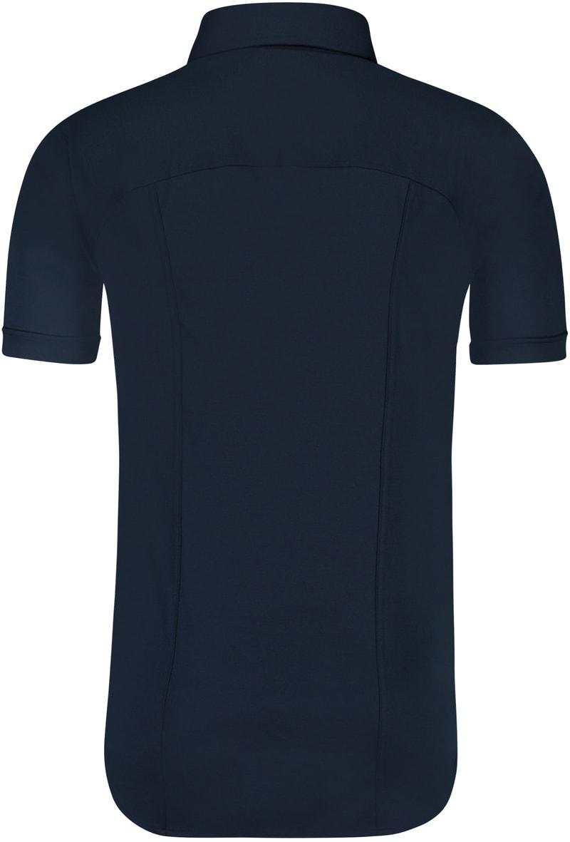Desoto Overhemd Korte Mouw Navy 057